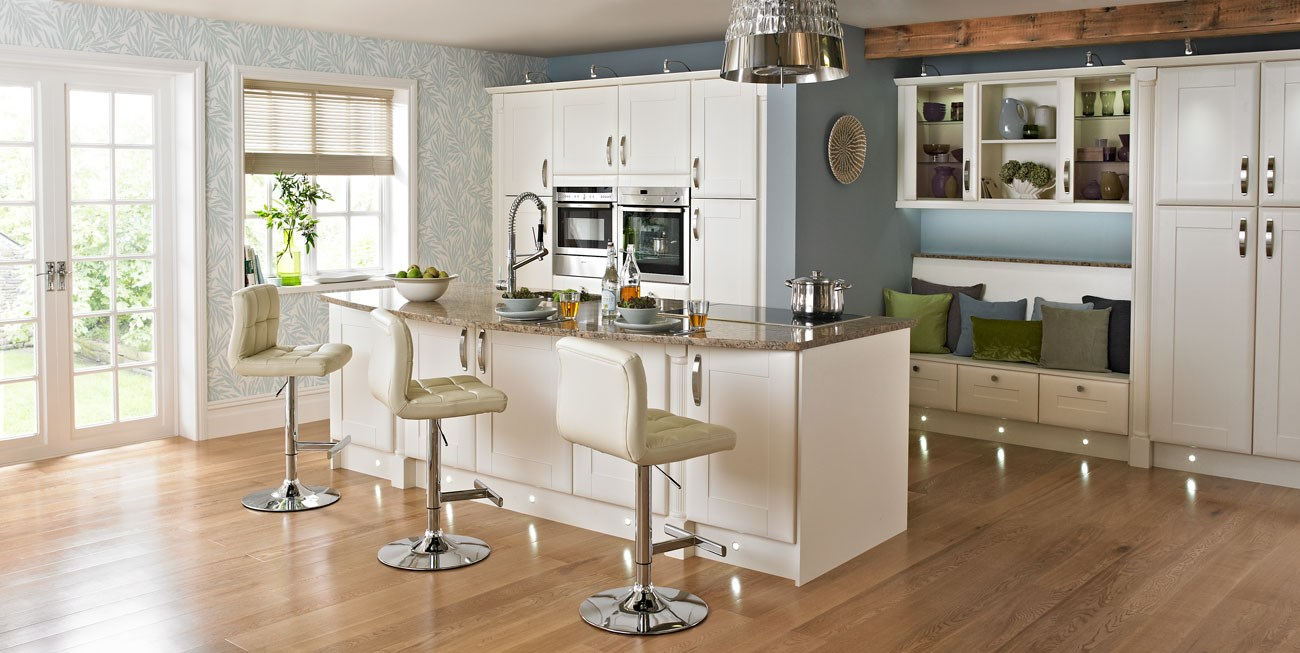 Washington cream kitchen fitted country kitchens from for Country living kitchen designs