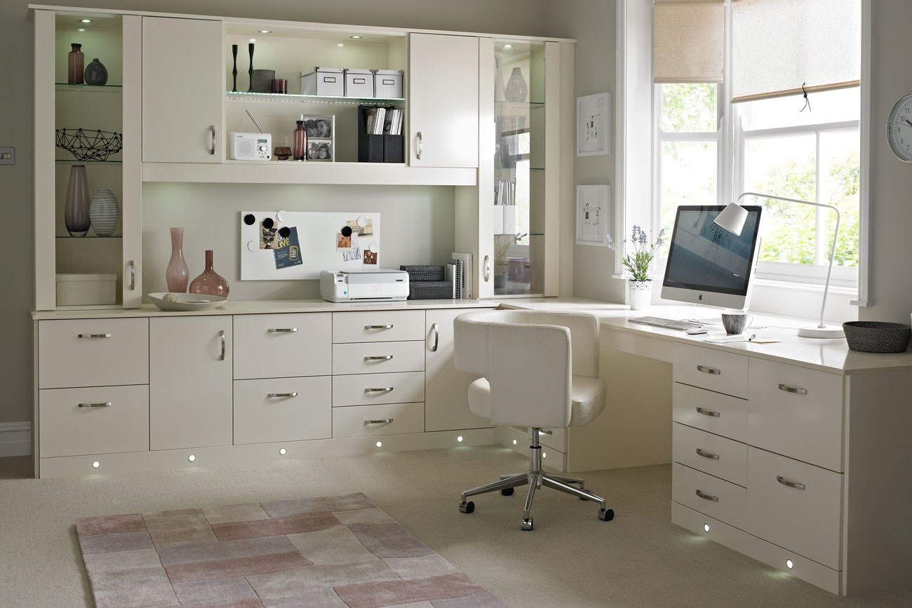 create a home office with betta living. Black Bedroom Furniture Sets. Home Design Ideas