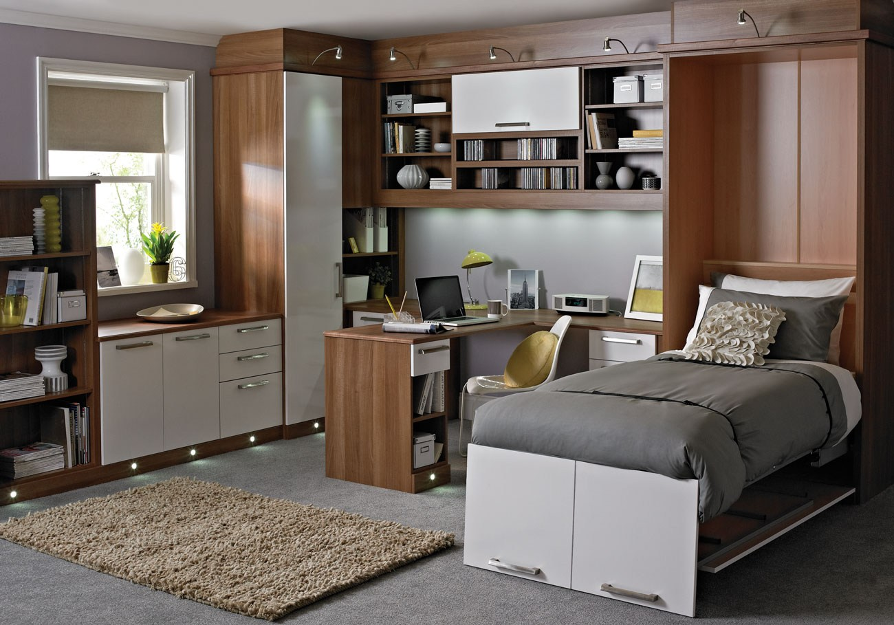 Guest room touches betta living - Modern home office floor plans for a comfortable home office ...