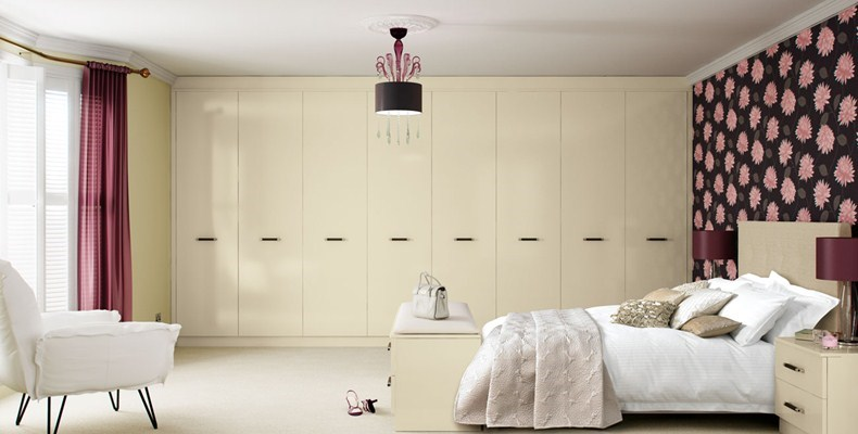 Brilliance Cream Fitted Bedroom