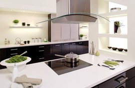Denver Black Hi-gloss Fitted Kitchen