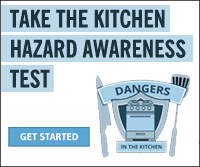 Take The Kitchen Hazard Awareness Test