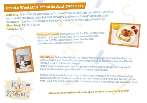 Create Weetabix Friends And Faces