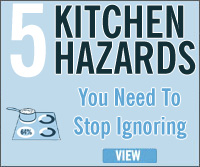 Advice and tips about safety in the home betta living for 5 kitchen safety hazards