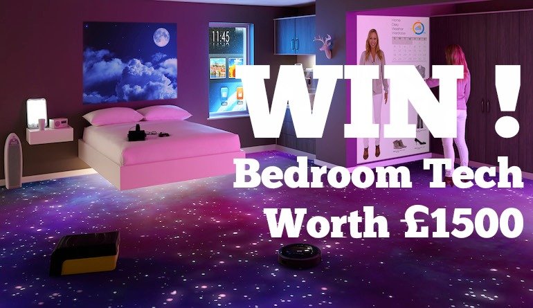 Bedroom gadget giveaway betta living for Living room channel 10 competition