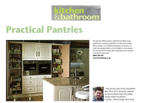Betta Living Kitchens, Bedroom and Bathrooms Mag