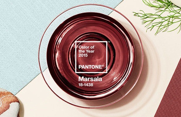 Colour of the year Marsala