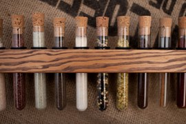 Spice racks tube