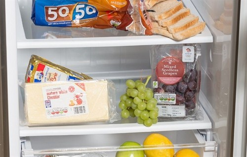 Cheese in fridge