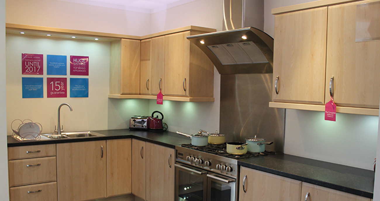 Cheap fitted kitchens bedrooms betta living sale for Cheap fitted kitchens