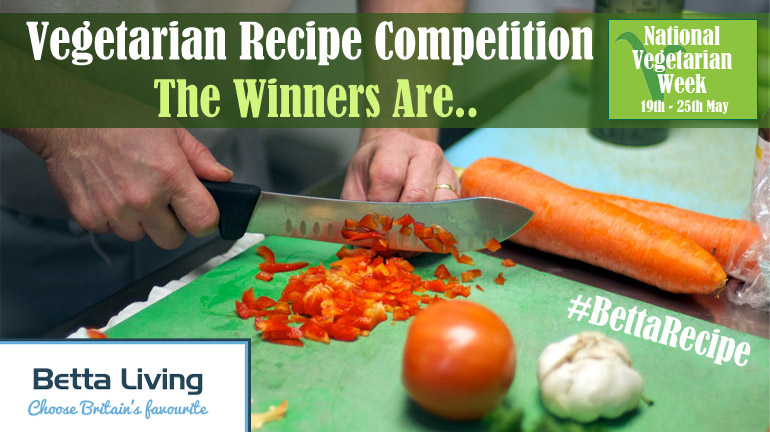 Vegetarian Recipe Competition Winners