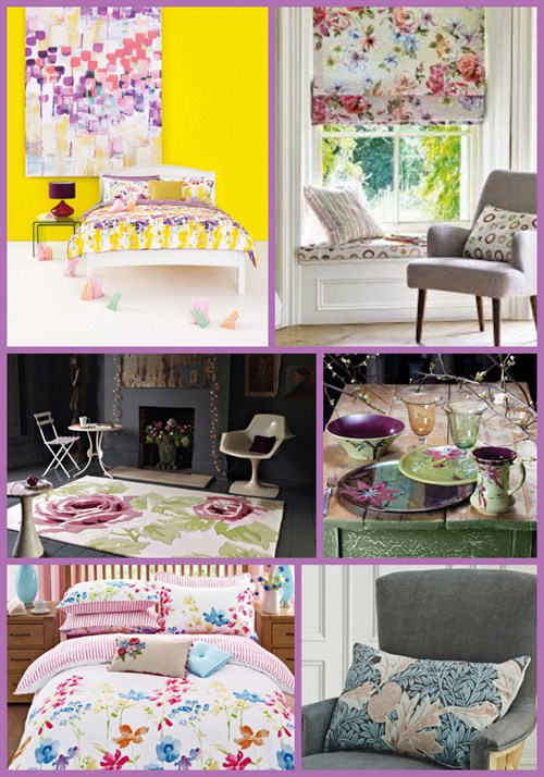 Adding Floral Patterns & Prints To Your Home