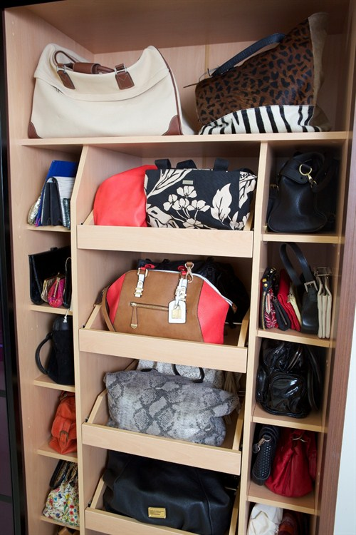 Bedroom Handbag Storage