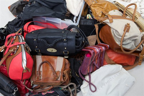 Handbags In Need Of Storage