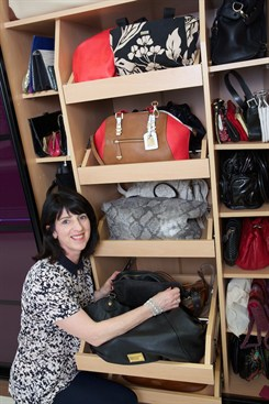 The Clutter Fairy Handbag Storage Advice