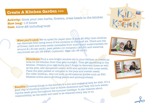 Create A Kitchen Garden