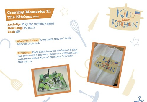 Activity Sheet 3 Creating Memories In The Kitchen