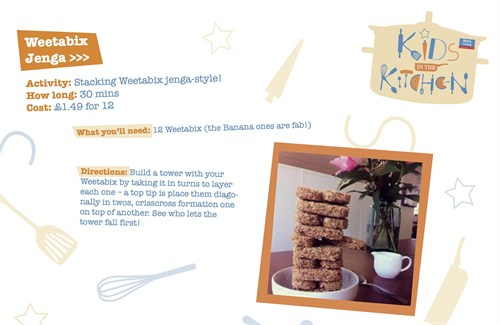 Activity Sheet 5 Weetabix Jenga