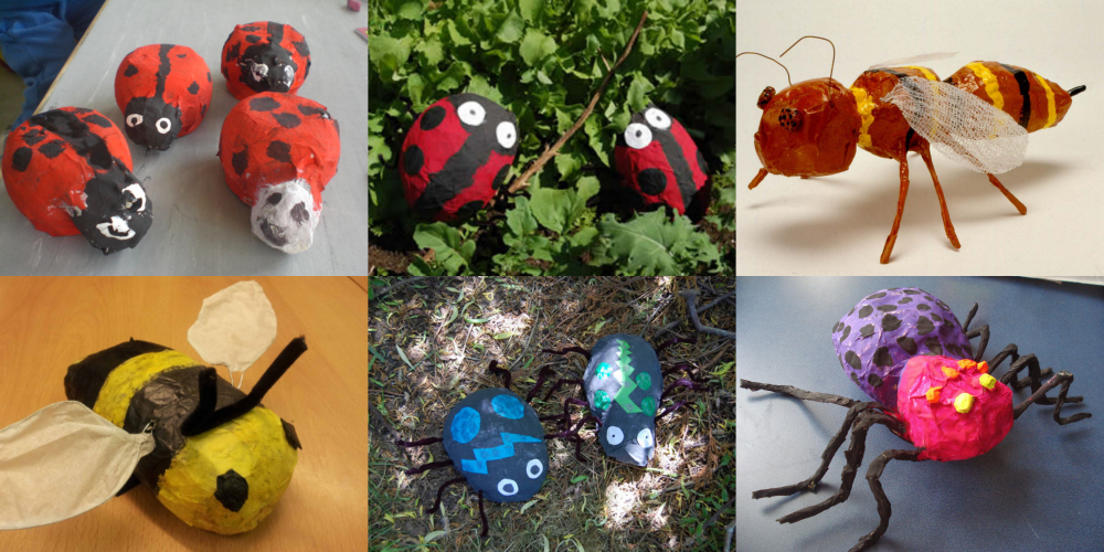 Image result for paper mache minibeast