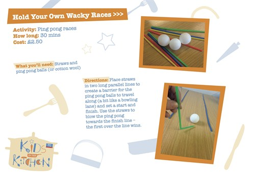 Activity Sheet 16 Hold Your Own Wacky Races