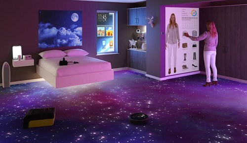 Bedroom Of The Future Room