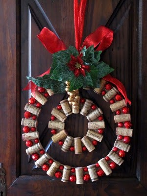 cork traditional wreath