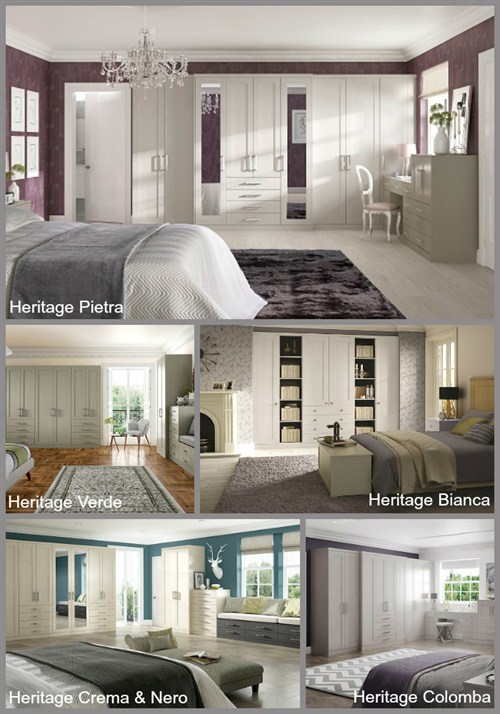 Heritage Fitted Bedroom Designs