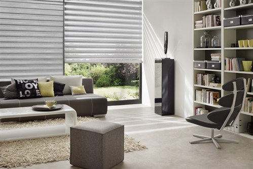 Apollo Blinds Elegance Twilight - Grey