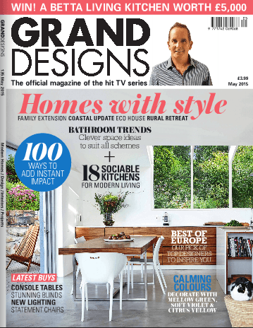 Grand Designs Cover May 2015