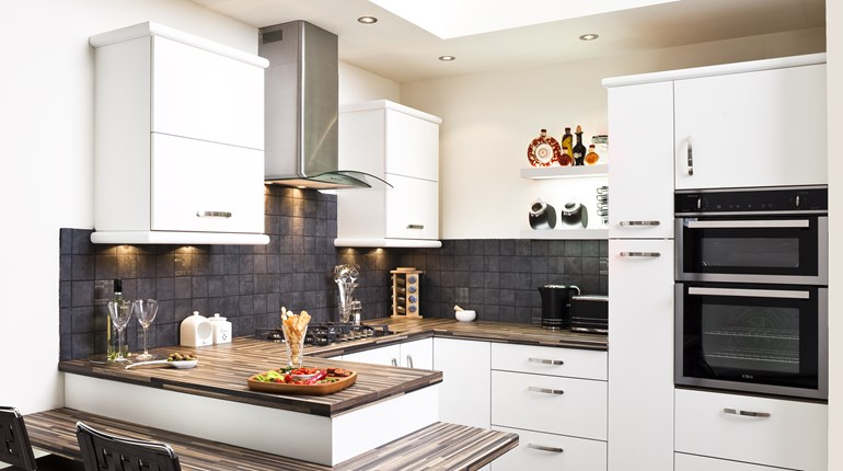 Aspen White Fitted Kitchen