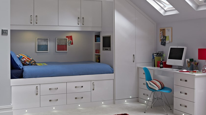 cassia 4; Cassia White iRoom ... & Cassia White Bedroom | Fitted Bedrooms from Betta Living