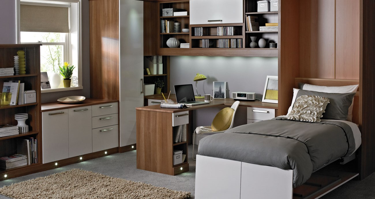 Esprit White Home Office Hide Away Bed